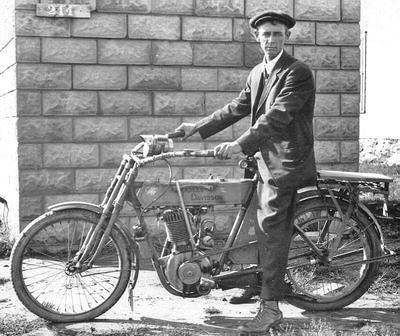 1912 Harley-Davidson XBA Single Cylinder